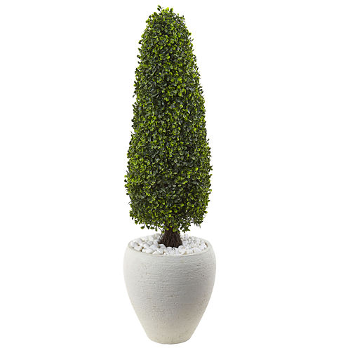 """41"""" Boxwood Topiary Artificial Plant"""