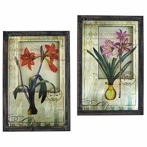 Framed French Floral Art Floral Prints