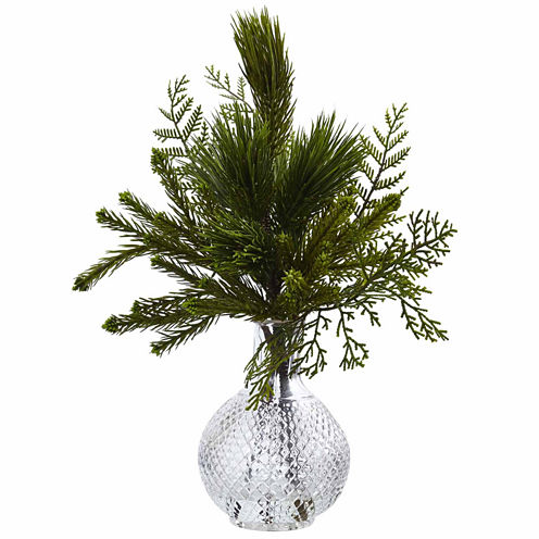 Mixed Pine Floral Arrangement