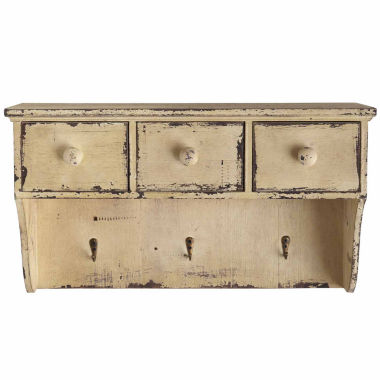 "jcpenney.com | 18.75"" Distressed Wall Shelf"
