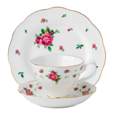 jcpenney.com | Royal Albert New Country Roses 3-pc. Cup and Saucer Set