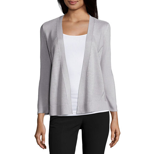 Worthington Textured Cardigan