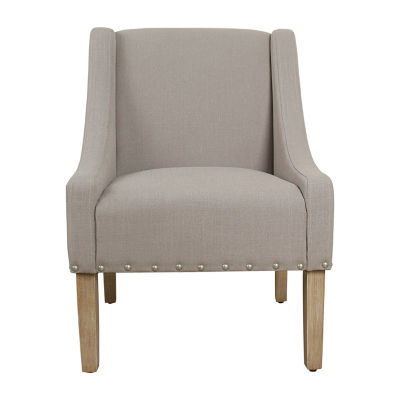 Homepop Swoop Arm Chair  sc 1 st  JCPenney & Homepop Swoop Arm Chair JCPenney
