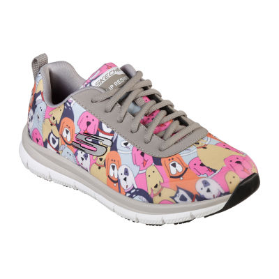 skechers slip resistant women's shoes