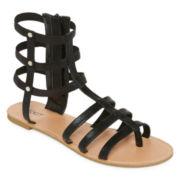 Mixit™ Elastic Gladiator Strap Sandal