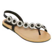 Mixit™ Estate Jewel Toe Loop Sandal