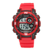 Armitron® Mens Red Digital Sport Watch