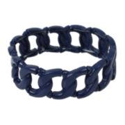 Bleu™ Blue Link Stretch Bracelet