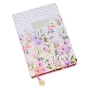 Adrienne Vittadini Floral Print Hard Notebook