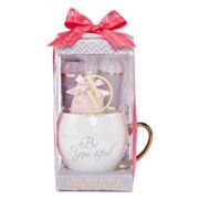Adrienne Vittadini Mug and Bath Gift Set