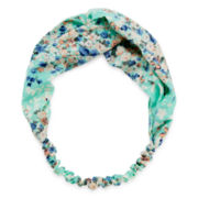 Carole Floral Butterfly Print Headband