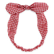 Carole Checkered Bow Headband