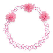 Carole Flower Jelly Choker Necklace