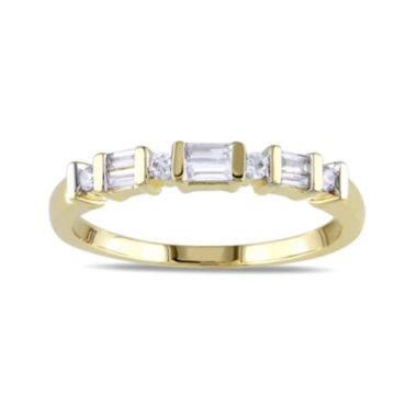 jcpenney.com | 1/5 CT. T.W. Diamond 10K Yellow Gold Anniversary Ring