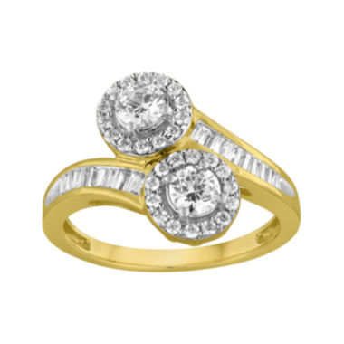 jcpenney.com | Two Forever™ 1½ C.T. TW. Diamond 14K Yellow Gold Ring
