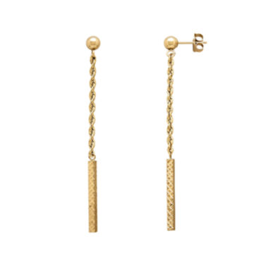 jcpenney.com | Infinite Gold™ 14K Yellow Gold Dangle Earrings