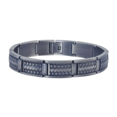 jcpenney.com | Mens Grey Stainless Steel Chain Bracelet