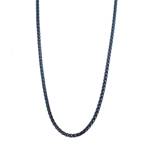 Black Stainless Steel Chain Necklace