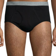 Stafford® 6-pk. Blended Cotton Full-Cut Briefs