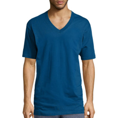 jcpenney.com | Stafford® 3-pk. Heavyweight V-Neck Tees