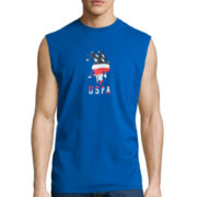 U.S. Polo Assn.® Sleeveless American Flag Tee