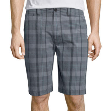 jcpenney.com | Arizona Plaid Flat-Front Shorts