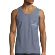 UNIONBAY® Wave Reversible Print Tank Top