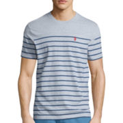 U.S. Polo Assn.® Short-Sleeve Striped Baseball Tee