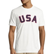 U.S. Polo Assn.® Short-Sleeve Logo Cotton Tee