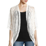 Self Esteem® Lace Shrug
