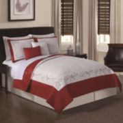 Loganberry 5-pc. Embroidered Quilt Set