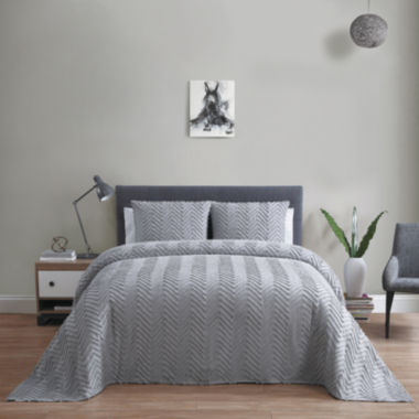 jcpenney.com | VCNY Antigua 3-pc. Cotton Chenille Bedspread Set
