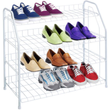 jcpenney.com | Sunbeam® 4-Tier Shoe Shelf