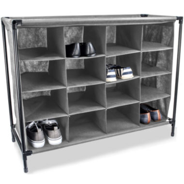 jcpenney.com | Sunbeam® 16-Pair Shoe Rack