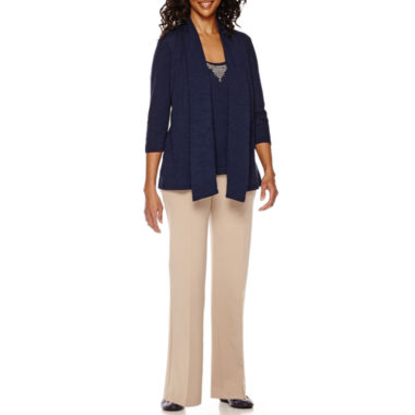 jcpenney.com | Sag Harbor® The Mariner 3/4-Sleeve Layered Top or Pants