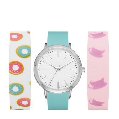 jcpenney.com | Mixit Womens Multicolor Strap Watch-Fmdjps097