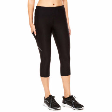 jcpenney.com | Xersion Knit Workout Capris Talls