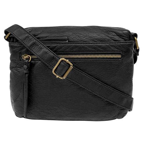 St. John's Bay Triple Zip Mini Crossbody Bag