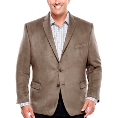 jcpenney.com | Collection by Michael Strahan Faux Suede Sport Coat-Big and Tall