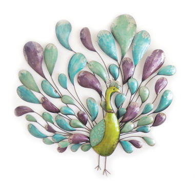 jcpenney.com | Peacock with Tail Wall Decor