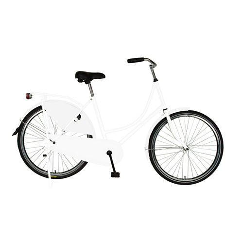 Cycle Force Dutch Style Single-Speed Women's Bike with Chain and Dress Guard