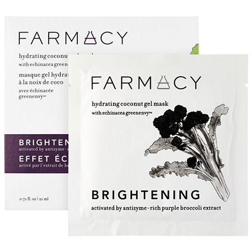 Farmacy Hydrating Coconut Gel Mask - Brightening (Purple Broccoli)