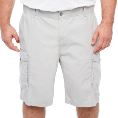 Izod Saltwater Seaside Cargo Short Ripstop Cargo Shorts Big And Tall by Izod