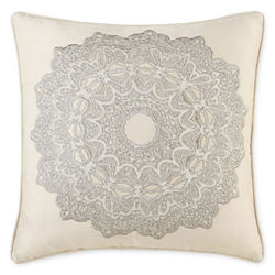 Royal Velvet® Zinnia Square Decorative Pillow