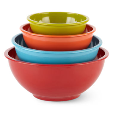 jcpenney.com | Cooks 4-pc. Melamine Mixing Bowl Set