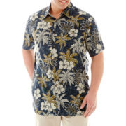The Foundry Supply Co. Short-Sleeve Rayon Shirt-Big & Tall