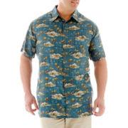 The Foundry Supply Co. Short-Sleeve Rayon Shirt-Big & Tall