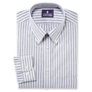 Stafford® Travel Wrinkle-Free Oxford Dress Shirt-Big & Tall