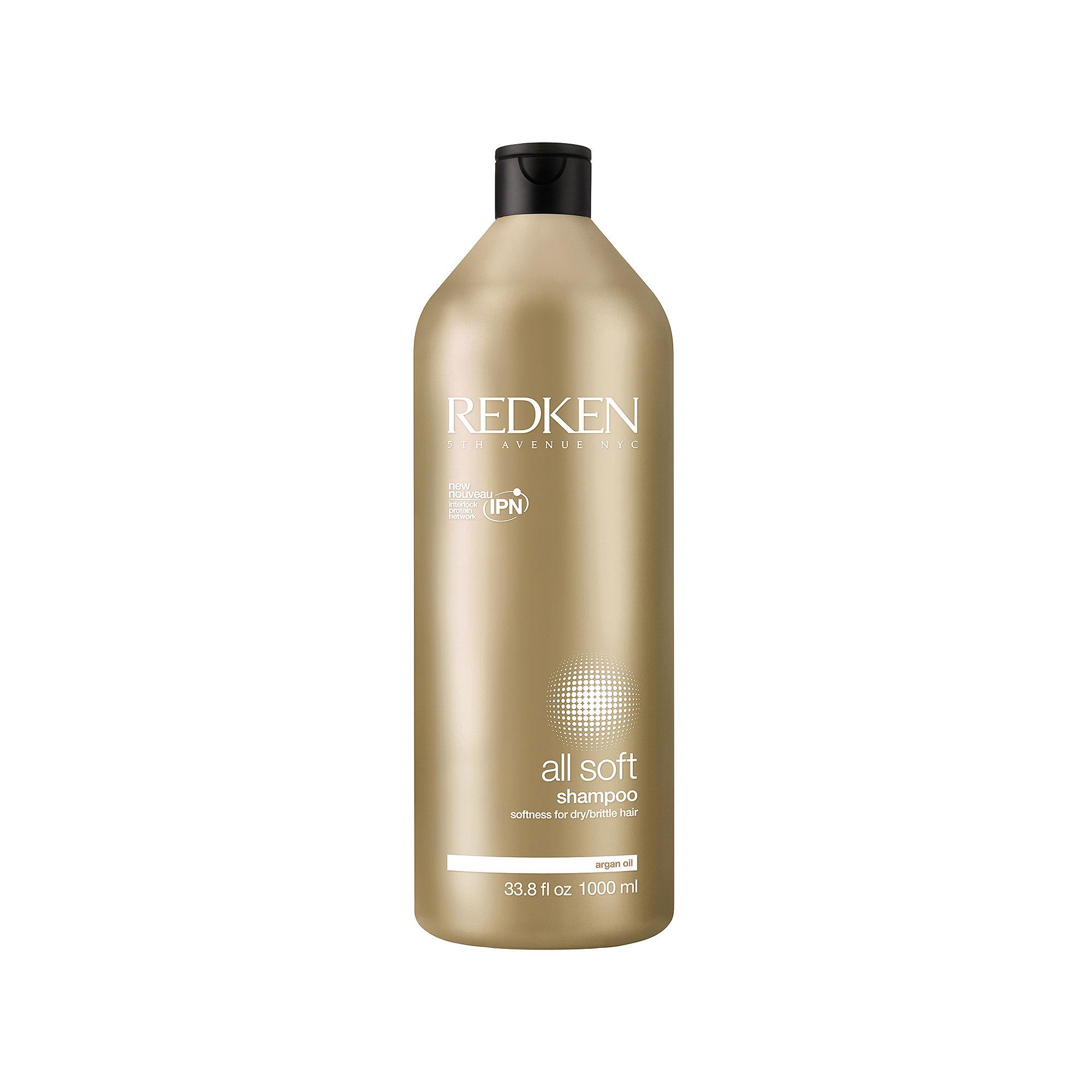 Redken All Soft Shampoo - 33.8 oz.