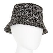 Black and White Pattern Bucket Hat